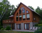 Custom Log Home Exterior